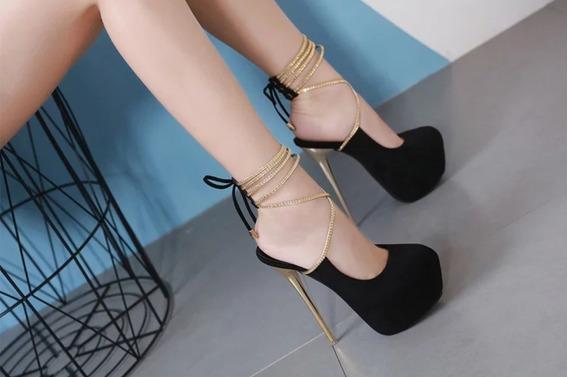 Sapato Luxo Importado Feminino