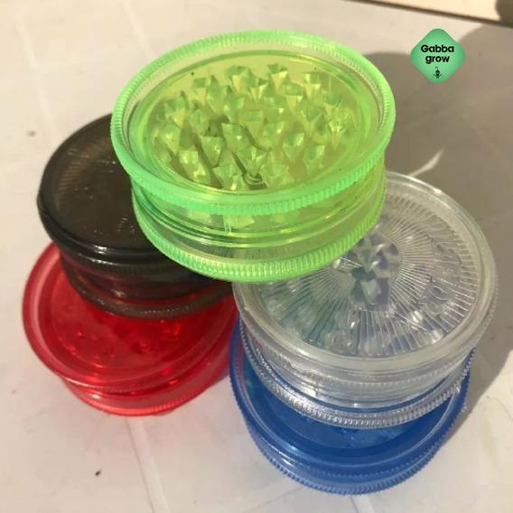 Picador Tabaco Grinder Picaflor Colores Gabba Grow Olivos