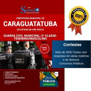 Apostila Guarda Municipal Prefeitura Caraguatatuba Sp