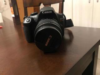 Cámara Canon Eos Rebel T6 + Kit (lente 75-300mm + Bolso)