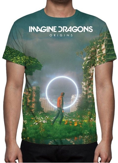 Camiseta Imagine Dragons - Origins - Estampa Total