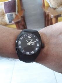 Relógio Armani Original Grande Masculino Completo