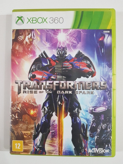 Transformers Rise Of The Dark Spark Original Para Xbox 360