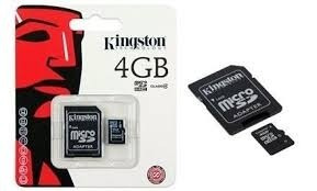 Memoria 4 Gb Con Adaptador Selladas En Blisters