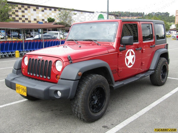 Jeep Wrangler Limited At 3800 Cc Aa 4x4