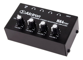 Amplificador De Auriculares Alctron Ha4 Plus 4 Canales Full