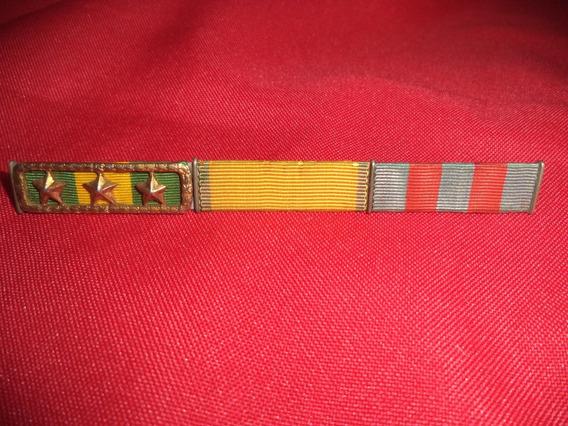 Barretas F. E. B. Medalha De Guerra, Etc
