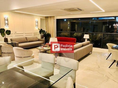 Apartamento À Venda, 227 M² Por R$ 2.944.330,00 - Chácara Santo Antônio (zona Sul) - São Paulo/sp - Ap28434