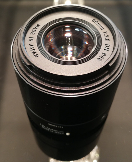 Lente Sigma 60mm Dn Art Para Sony
