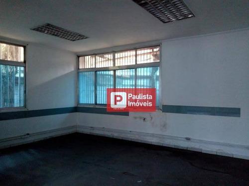 Galpão, 2554 M² - Venda Por R$ 12.000.000,00 Ou Aluguel Por R$ 72.000,00/mês - Jurubatuba - São Paulo/sp - Ga0508