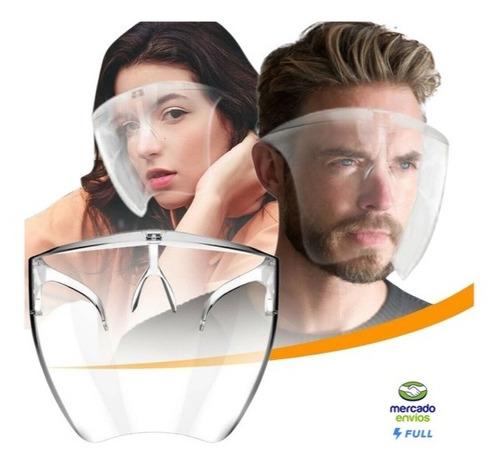 Careta Protector Facial Soporte Marco Lentes Reutilizable