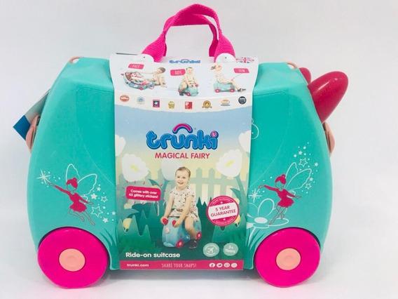 Mala De Viagem Infantil Trunki Com Rodinhas - Fada