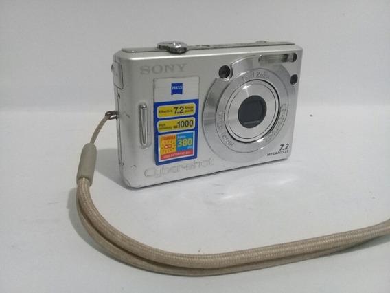 Câmera Sony Cyber-shot Dsc Modelo W35