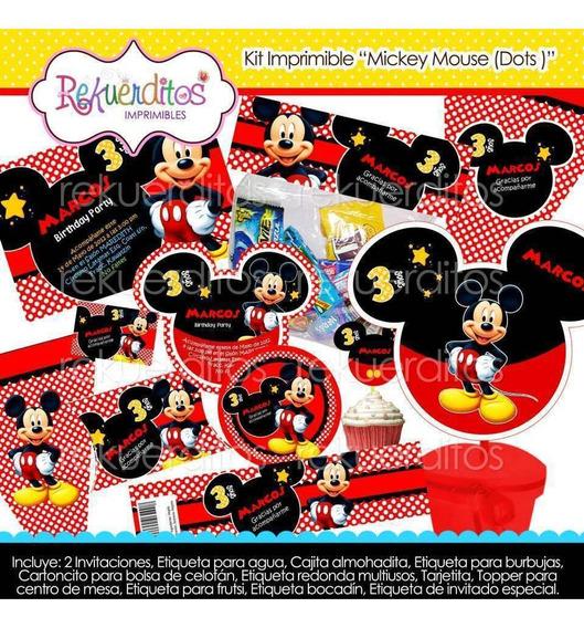 Tarjetas Invitacion Mickey Mouse Otros Capital Federal