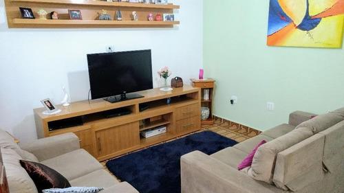 Casa Com 2 Dormitórios À Venda, 217 M² Por R$ 670.000,00 - Vila Pires - Santo André/sp - Ca0461