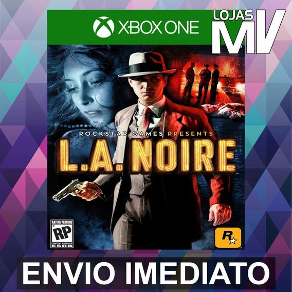 L.a. Noire - Codigo 25 Digitos Xbox One