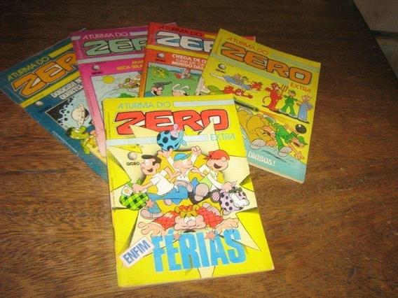 A Turma Do Zero Extra Nºs 1 Ao 5 Ano:1987 Globo Originais