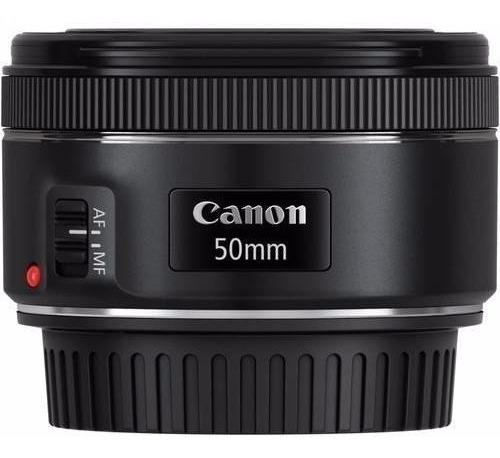 Lente Canon Ef 50mm F/1.8 Stm Original Garantia Canon Nfe
