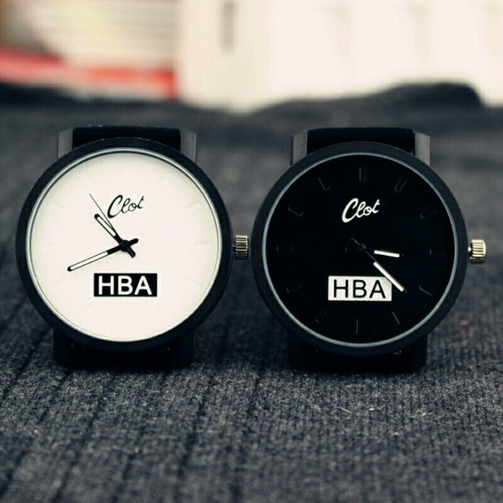 Relógio Moda Luxo Hba Pratica Esporte Unissex Promoção