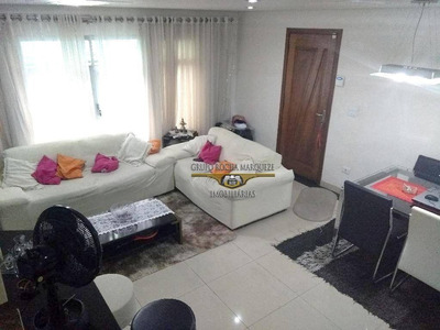 Sobrado Residencial À Venda, Anália Franco, São Paulo. - So0292