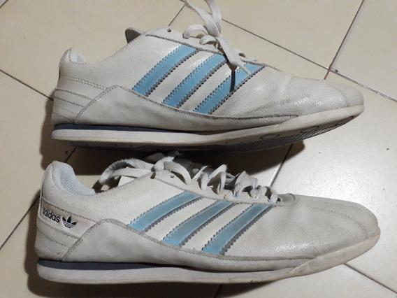 Zapatillas De Cuero adidas Afa Talle Uk 9 Us 9 1/2