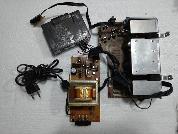Placa Power/seletor/placa C/ Transformador Som Cce Md-4400
