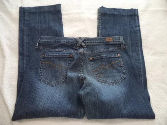 Pantalon Mezclilla Strech Tommy Y Dkny 10 Y 8 Corte Bota