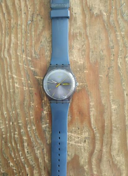 Reloj Swatch Azul/azul
