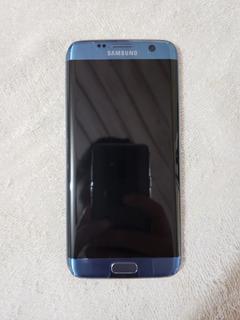Samsung Galaxy S7 Edge, Azul Coral, 32/4gb