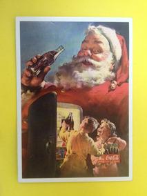 Cartão Postal Natal Da Coca-cola Do Papai Noel Original (06)
