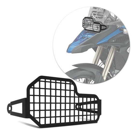 Protetor De Farol Bmw F800 Gs R Adventure 2012 A 2017