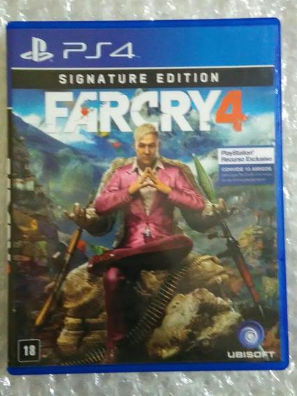 Far Cry Ps4 Mídia Fisica Seminovo