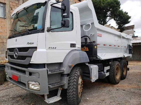 Mercedes-bens Axor 4144 6x4 Ano 2014/2014 Com Retarder