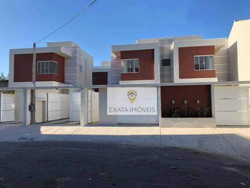 Casa Duplex 02 Suítes, Recreio/ouro Verde, Rio Das Ostras. - Ca1015