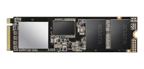 Imagen 1 de 2 de Disco sólido SSD interno XPG SX8200 Pro ASX8200PNP-512GT-C 512GB negro