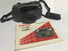 Máquina Fotográfica Pentax Espio 160 Com Controle Remoto.