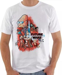 Camisa Camiseta Futurama Star Wars Seriado Filme Best Swag