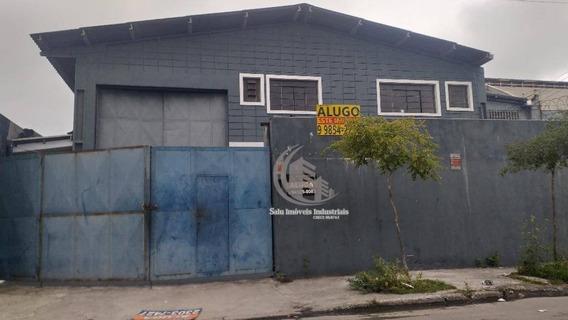 Galpão Para Alugar, 442 M² Por R$ 7.000,00/mês - Cidade Industrial Satélite De São Paulo - Guarulhos/sp - Ga0374