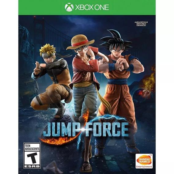 Jump Force Xbox One Midia Fisica Pronta Entrega