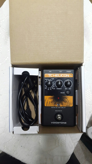 Pedal Para Voz: Tc Helicon E1 (echo Y Delay)
