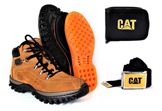 Bota Coturno Adv. Caterpillar + Kit Cat Súper Promoção !!!