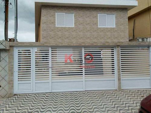 Imagem 1 de 8 de Casa Com 2 Dormitórios À Venda, 50 M² Por R$ 210.000,00 - Parque São Vicente - São Vicente/sp - Ca1192