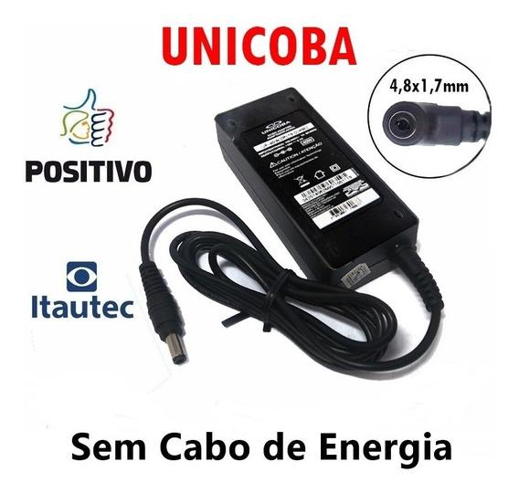 Carregador De Notebook Itautec 19v 2.1a A7520 Sem Cabo