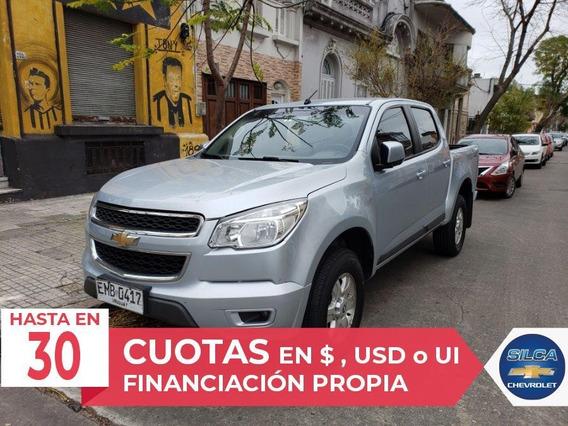 Chevrolet S10 Lt 2.4 2012 Gris Plata 4 Puertas