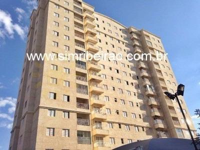Vendo Apartamento Em Ribeirão Preto. Edifício Vida Plena. - Ap08965 - 33955127
