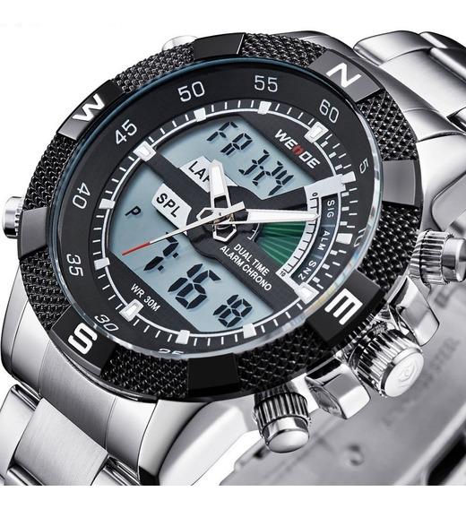 Relógio Pulso Weide Sports Led Digital Wh-1104-4 Promoção