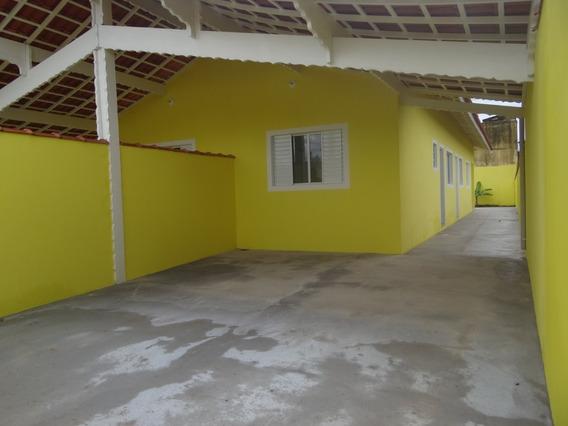 Em Mongaguá. Casas Com 2 Dormitórios Aproveite Ref7664w