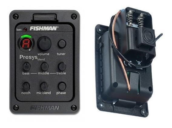 Captador Fishman Presys Blend 301 C/ Microfone