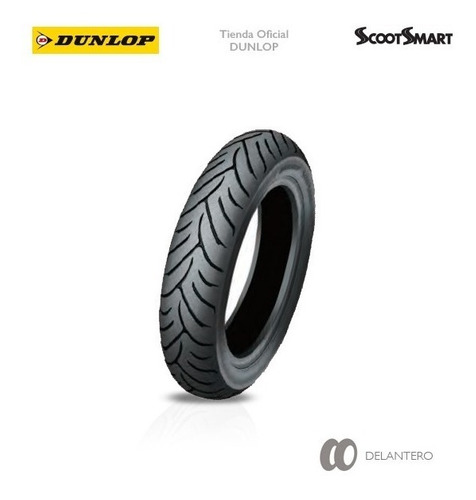 Cubierta 120-70 R13 Dunlop Scootsmart En Sauma Motos