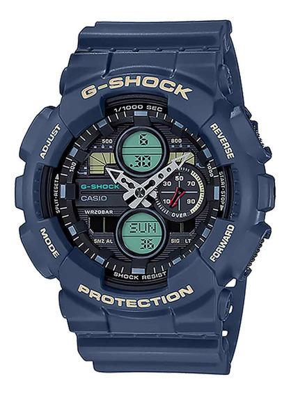 Relogio Casio G-shock Ga-140-2adr + Nota Fiscal Ga140